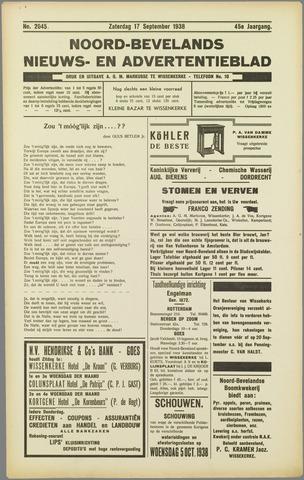 Noord-Bevelands Nieuws- en advertentieblad 1938-09-17