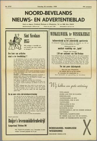 Noord-Bevelands Nieuws- en advertentieblad 1955-11-26