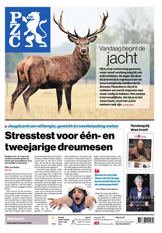 Provinciale Zeeuwse Courant 2018-11-15