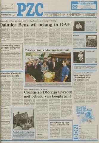 Provinciale Zeeuwse Courant 1992-08-27