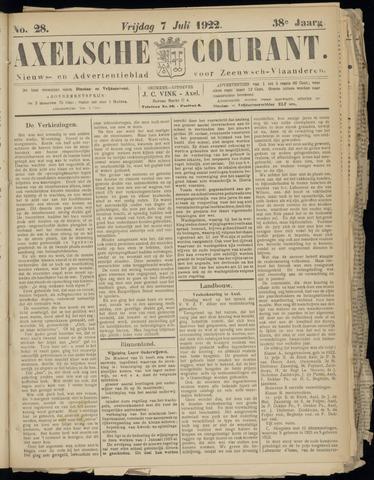 Axelsche Courant 1922-07-07