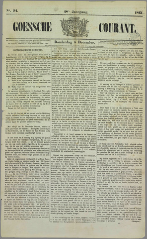 Goessche Courant 1861-12-05