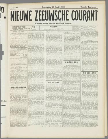 Nieuwe Zeeuwsche Courant 1906-04-26