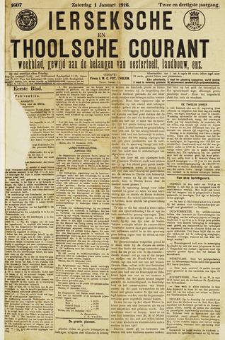 Ierseksche en Thoolsche Courant 1916