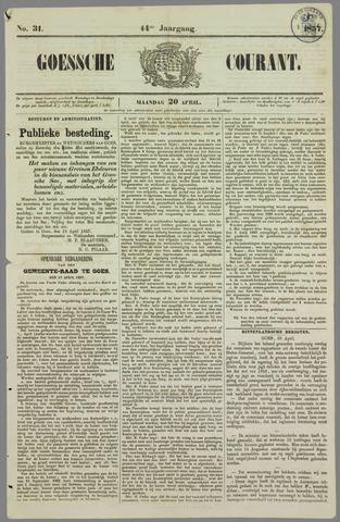 Goessche Courant 1857-04-20
