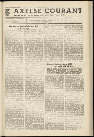 Axelsche Courant 1965-09-25