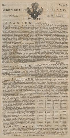 Middelburgsche Courant 1776-02-08