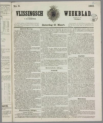 Vlissings Weekblad 1863-03-21