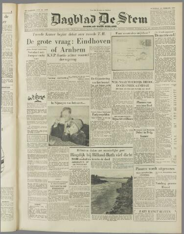de Stem 1953-02-25