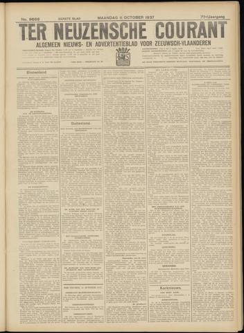 Ter Neuzensche Courant. Algemeen Nieuws- en Advertentieblad voor Zeeuwsch-Vlaanderen / Neuzensche Courant ... (idem) / (Algemeen) nieuws en advertentieblad voor Zeeuwsch-Vlaanderen 1937-10-11