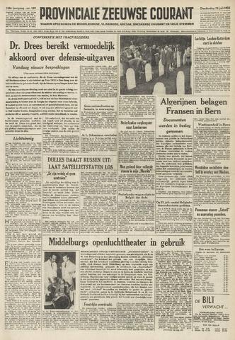 Provinciale Zeeuwse Courant 1956-07-12
