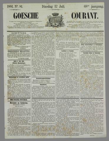 Goessche Courant 1881-07-12