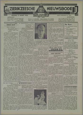 Zierikzeesche Nieuwsbode 1936-03-13