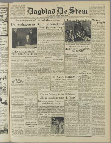 de Stem 1952-05-27