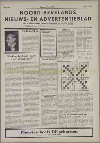 Noord-Bevelands Nieuws- en advertentieblad 1970-06-27