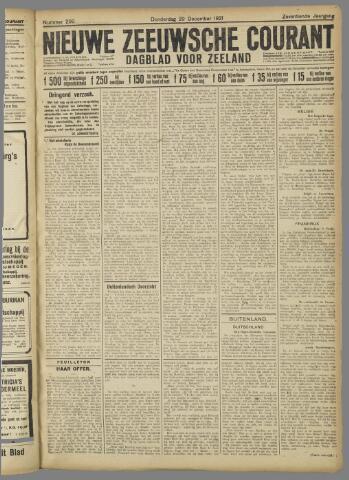 Nieuwe Zeeuwsche Courant 1921-12-29