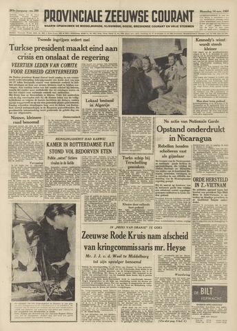 Provinciale Zeeuwse Courant 1960-11-14