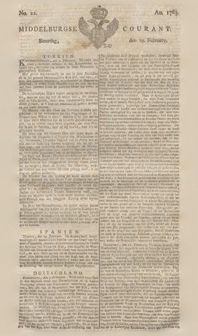 Middelburgsche Courant 1763-02-19