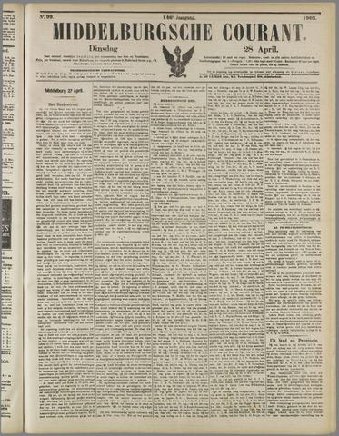 Middelburgsche Courant 1903-04-28
