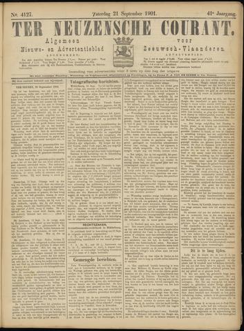 Ter Neuzensche Courant. Algemeen Nieuws- en Advertentieblad voor Zeeuwsch-Vlaanderen / Neuzensche Courant ... (idem) / (Algemeen) nieuws en advertentieblad voor Zeeuwsch-Vlaanderen 1901-09-21