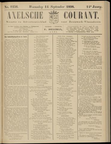Axelsche Courant 1898-09-14