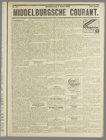 Middelburgsche Courant 1927-06-09