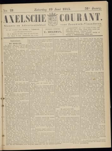 Axelsche Courant 1915-06-19