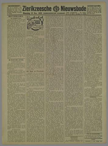Zierikzeesche Nieuwsbode 1923-11-12