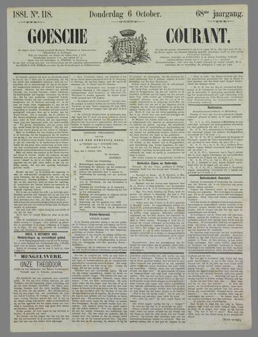 Goessche Courant 1881-10-06