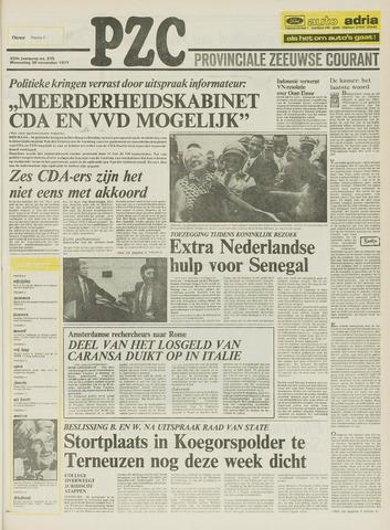 Provinciale Zeeuwse Courant 1977-11-30