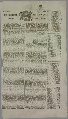 Goessche Courant 1825