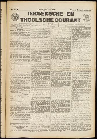 Ierseksche en Thoolsche Courant 1918-07-06
