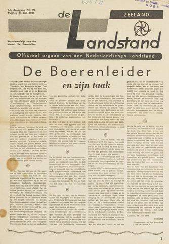 De landstand in Zeeland, geïllustreerd weekblad. 1943-07-23