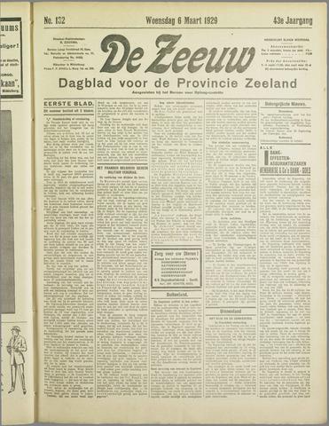 De Zeeuw. Christelijk-historisch nieuwsblad voor Zeeland 1929-03-06