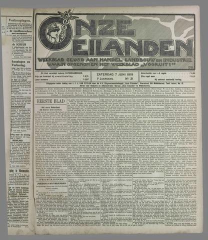 Onze Eilanden 1919-06-07