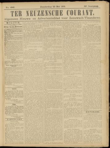 Ter Neuzensche Courant. Algemeen Nieuws- en Advertentieblad voor Zeeuwsch-Vlaanderen / Neuzensche Courant ... (idem) / (Algemeen) nieuws en advertentieblad voor Zeeuwsch-Vlaanderen 1919-05-22