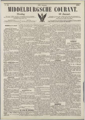 Middelburgsche Courant 1901-01-29
