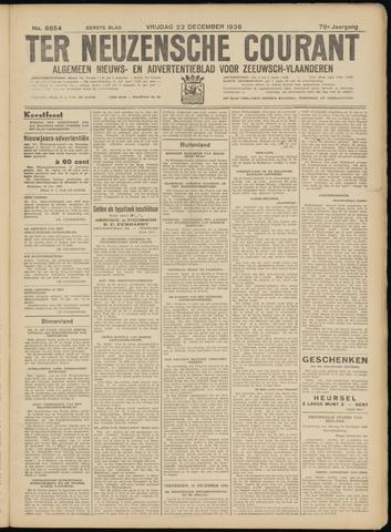 Ter Neuzensche Courant. Algemeen Nieuws- en Advertentieblad voor Zeeuwsch-Vlaanderen / Neuzensche Courant ... (idem) / (Algemeen) nieuws en advertentieblad voor Zeeuwsch-Vlaanderen 1938-12-23