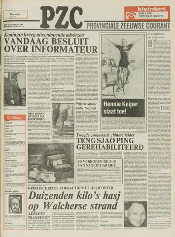 Provinciale Zeeuwse Courant 1977-07-20