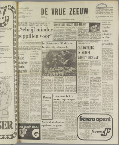 de Vrije Zeeuw 1973-04-13