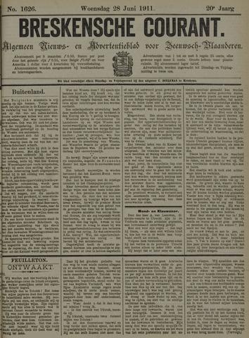 Breskensche Courant 1911-06-28