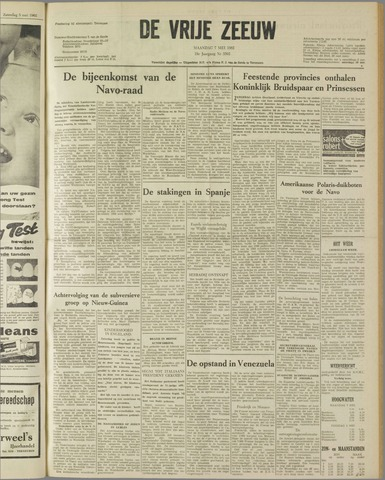 de Vrije Zeeuw 1962-05-07