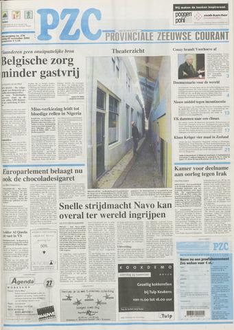 Provinciale Zeeuwse Courant 2002-11-22