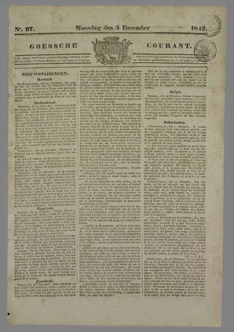 Goessche Courant 1842-12-05
