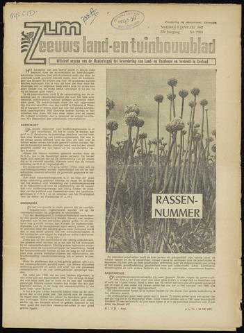 Zeeuwsch landbouwblad ... ZLM land- en tuinbouwblad 1967