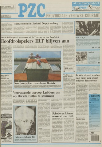 Provinciale Zeeuwse Courant 1994-04-30
