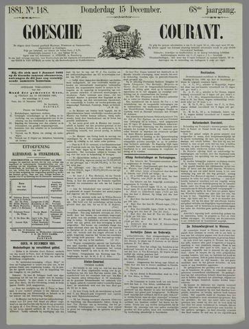 Goessche Courant 1881-12-15