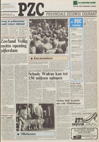 Provinciale Zeeuwse Courant 1986-08-16