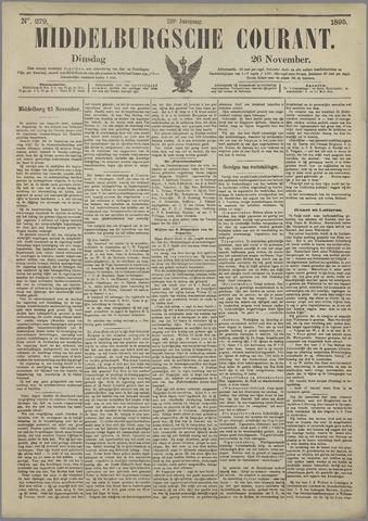 Middelburgsche Courant 1895-11-26