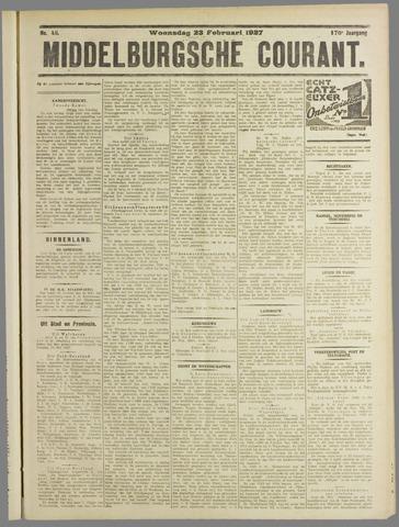 Middelburgsche Courant 1927-02-23